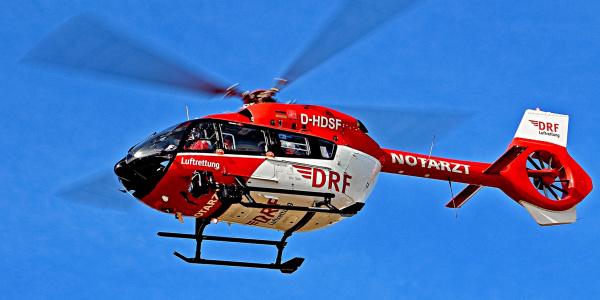 Bestens geeignet für hoch anspruchsvolle Transporte schwer kranker und verletzter Patienten zwischen Kliniken: die H 145.