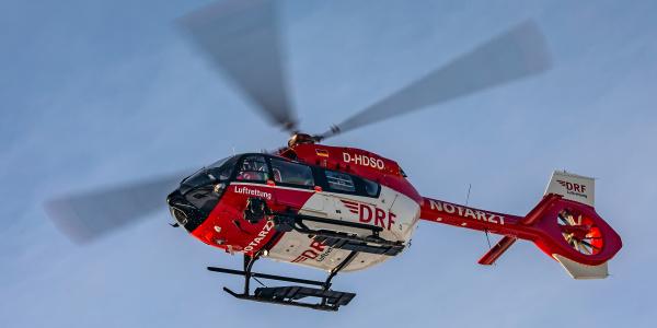Die Besatzungen der DRF Luftrettung erleben täglich, dass es bei Schlaganfällen auf jede Minute ankommt.