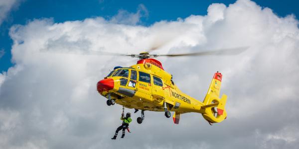 NHC Northern Helicopter übernimmt Luftrettung für vier weitere Offshore-Windparks in der Nordsee.