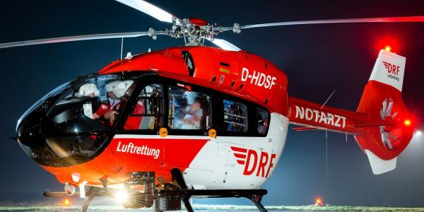 Optimal für den Nachtflug geeignet: die H145, die auch in München zum Einsatz kommt. Symbolbild.