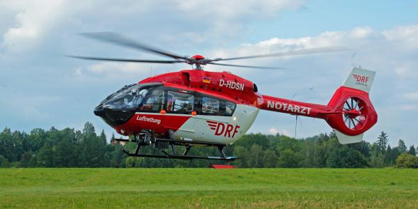 Eine hochmoderne H 145 ist als Christoph Nürnberg im Einsatz. Symbolbild.