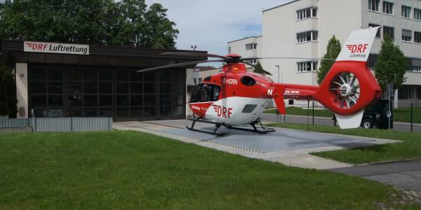 Am 1. August 1991 übernahm die DRF Luftrettung den Betrieb ihrer ersten Hubschrauber-Station in den neuen Bundesländern. Christoph 46 aus Zwickau kommt vorrangig in der sächsischen Großstadt sowie im Vogtland und in weiten Teilen des Erzgebirges zum Einsatz.