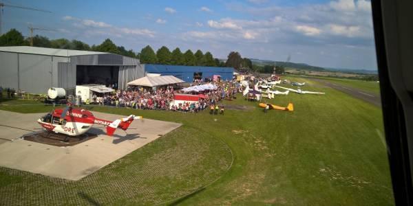 Ein ganzes Wochenende lang konnten sich interessierte Besucher über die Arbeit der Luftretter informieren